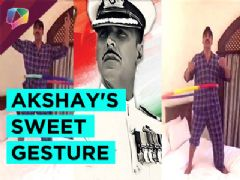 Akshay Kumar sings to thank fans and Bollywood fraternity