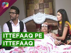 In Kasam Tere Pyaar Ki: Tanu coinsidently reaches Rishi's house