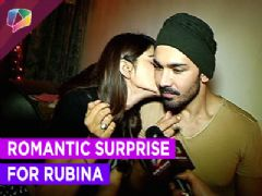 Romantic birthday surprise for Rubina Dilaik from her boyfriend Abhinav Shukla