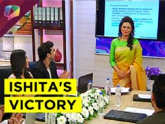 Ishita proves her mettle on the business front