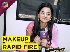 Helly Shah plays fun and quick Makeup Rapid Fire