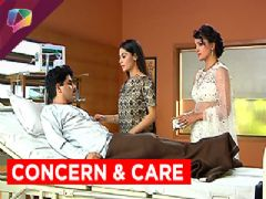 Raman, Ishita, Ruhi, Aaliya and Shagun in hospital