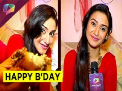 Rati Pandey celebrates her birthday with her Parents this year
