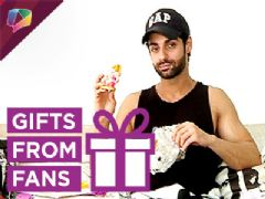 Watch Karan Wahi receive gifts from his fans Part-3