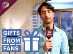 Shaheer Sheikh aka Dev Dixit receives gifts from his fans