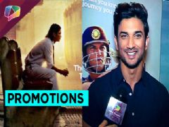 Sushant Singh Rajput promoting his new film M.S.Dhoni