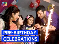 Ruhanika aka Pihu celebrates her birthday on the sets of Yeh Hai Mohabbatien