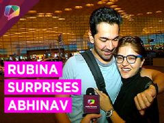 Rubina Dilaik Surprises Abhinav Shukla prior to his Birthday!