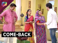 Shraddha is back in Pandey Niwas in Thapki Pyaar Ki