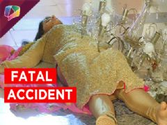 Kaali meets with an accident in Kaala Teeka