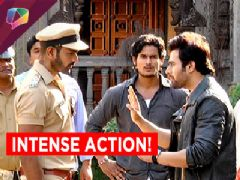 Check out the intense fight scene in between Nagarjuna and Shankarachurna!