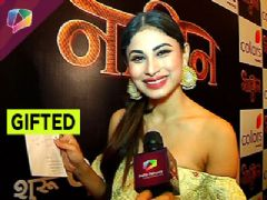 Mouni Roy gets showered with love from her fans