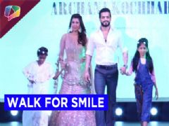 Television stars walk at Smile Foundation Fashion Show