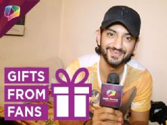 Kunal Jaisingh receives gifts from his fans