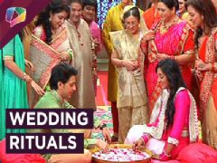 Aryan and Sanchi wedding rituals in Ek Rishta Sajhedari Ka