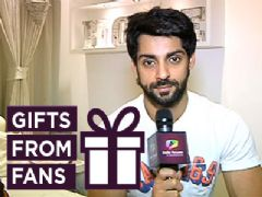 Karan Wahi receives Diwali gifts from fans part-2