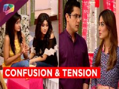 Akshara and Naitik tensed for their daughters