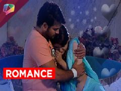 Harman and Soumya's romantic moment