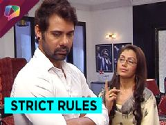 Pragya keeps Abhi under strict rules.