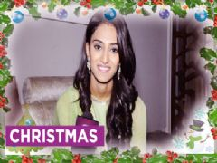 Erica Fernandes decorates Christmas Tree