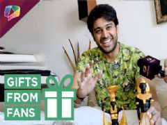 Gaurav Khanna Receives Gifts From Fans