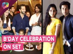 Surprise B'Day Bash For Nakuul On The Set | Disha Wishes Him On His B'Day