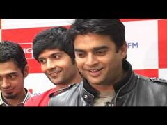 Starcast of the film 'Teen Patti' at Big FM
