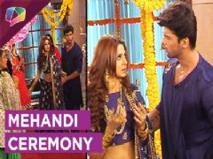 Apshagun In Maya's Mehandi Ceremony | Beyhadh | Sony TV