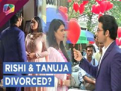 Rishi & Tanuja get divorced | Rishi finds someone for Tanuja | Kasam | Colors Tv