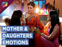 Meghna and Naina share emotional moments with their Mother | Swabhimaan | Colors TV