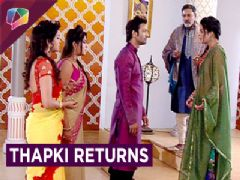 Thapki Returns To Pandey Niwas After 7 YEARS | Thapki Pyaar Ki | Colors Tv