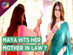 Maya Gets Angry And Tries To Hit Her Mother-In-Law | Beyhadh | Sony Tv