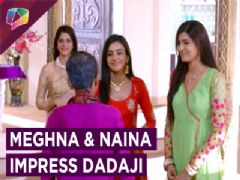 Meghna & Naina Impress Dadaji | Swabhimaan | Colors Tv