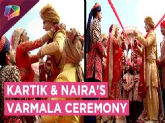 Kartik and Naira's Wedding Begins | Varmala Ceremony | Yeh Rishta Kya Kehlata hai | Star Plus