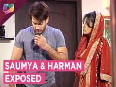Saumya And Harman Caught | Preeto SLAPS Harman | Shakti | Colors Tv