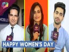 Surbhi Jyoti, Karan Mehra and Zain Imam Wishing A Happy Women's Day | Exclusive