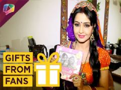 Shubhangi Atre Receives Gifts From Fans