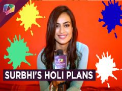 Surbhi Jyoti Shares Her Holi Plans With India Forums | Exclusive