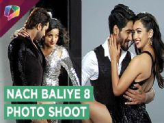 Nach Baliye 8 Photo Shoot Begins | Monalisa - Vikram | Sanam - Abigail