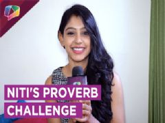 Niti Taylor Takes Up The Proverb Challenge | Exclusive