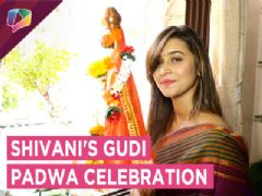 Shivani Surve Celebrates Gudi Padwa With India Forums | Exclusive
