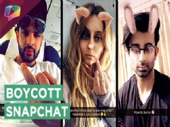 Enraged TV actors take a DIG at Snapchat! | India Forums