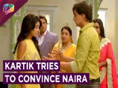 Kartik tries to clear Naira's DOUBT | Yeh Rishta Kya Kehlata Hai | Star Plus