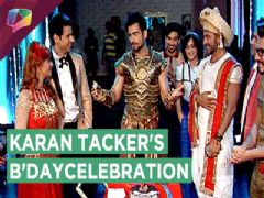 Karan Tacker celebrates his B'day on  Nach Baliye 8 | Star Plus
