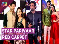 Sanam, Abigail, Remo D'souza, Aditi Bhatia And Many More At Star Parivaar 2017 Red Carpet
