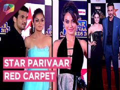 Drashti, Arjun, Mohit, Sanaya, Anita, Surbhi Jyoti And Many More At Star Parivaar 2017 Red Carpet