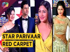 Divyanka, Vivek, Surbhi Chandna, Nakul, Kunal, Kanchi And Many More At Star Parivaar 2017 Red Carpet