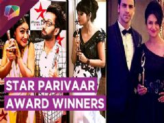 Star Parivaar Awards 2017 Winners Share Their Excitement With Fans
