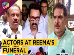 Celebrities At Reema Lagoo's Funeral | Amir Khan