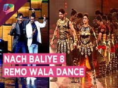 Divyanka-Vivek And Aashka-Brent's Powerful Performances | Nach Baliye 8 | Remo Wala Dance